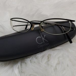 Calvin Klein glasses with case